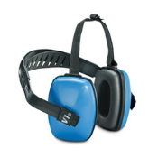 Viking multiple-position earmuffs give the flexibility of wearing over or behind or under-the-chin. Viking earmuffs can be worn with other PPE, including hard hats, visors, face shields, etc.