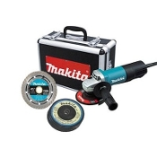 "4-1/2"" Paddle Switch Angle Grinder by Makita Professional Power Tools."