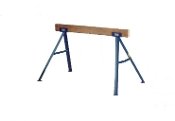 Trojan sawhorses are very strong and sturdy. They set up quickly, easily, and without tools. The tight grip connection makes a wobble-free sawhorse.
