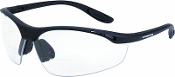 Talon Reader safety glasses have a sporty and lightweight design created for a great fit and ease of use in low light conditions. Allows maximimum light transmission without changing or distorting sight or colors.