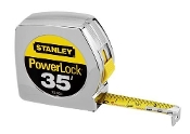Stanley tapes are the jobsite standard with features like a 7' standout, Mylar coated blade, and a secure blade lock.