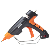 Industrial strength hot melt glue gun. For best results use in PAM Fastening Technology, Inc. glue sticks.
