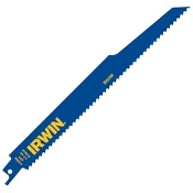 Irwin Demolition Reciprocating Saw Blades are made for heavy duty and demolition applications in wood and metal