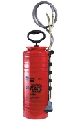 3.5 Gallon Tri-Poxy steel tank for durability and a 4-inch wide mouth opening for easy filling and cleaning