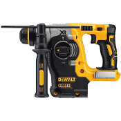"The DeWalt DCH273P2 20V Max XR Brushless 1"" Rotary Hammer is a high-performance drill powered by a DEWALT brushless motor that provides corded power without the cord"