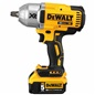 "The DeWalt DCF899HP2 1/2"" Drive 20V Cordless MAX XR™ Impact Wrench Kit includes a multi-voltage charger, 2) DCB205 5.0 Amp Hour batteries, and a carry bag"