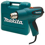 Makita HG551V has variable temperature and 2 speeds making it ideal for many projects.