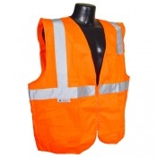 Radians SV2Z Economy Class 2 Safety Vest with Zipper Closure is compliant protection at an economical price. Excellent choice for tough work environments or value priced protection for short-term labor.