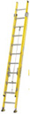 Featherlite 6900 Series Fiberglass Extension Ladders meet or exceed ANSI Type 1A ratings. Call or e-mail for shipping cost.