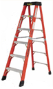 Featherlite 6400 Series Fiberglass Step Ladders meet or exceed ANSI Type 1A ratings.High visibility safety yellow. Call or e-mail for shipping cost.